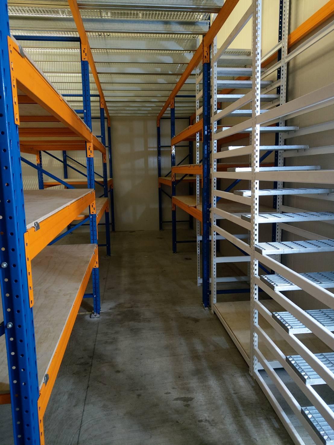 台中重型倉儲物料積層架