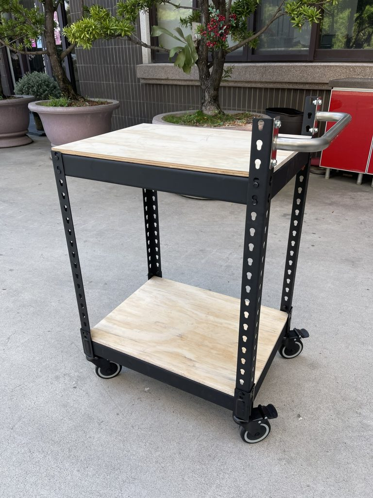 免螺絲角鋼工作桌