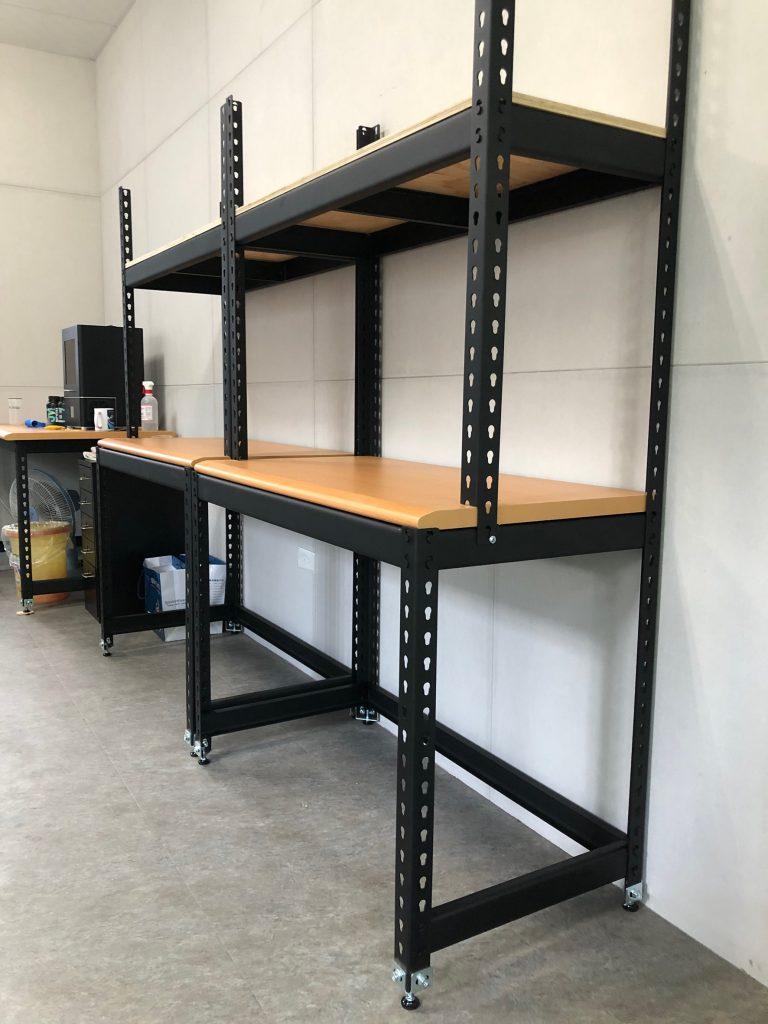 台中、彰化免螺絲角鋼 角鐵 萬能角鋼 DIY工作桌